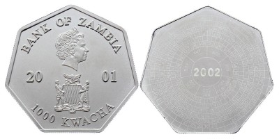 1000kwacha 2001