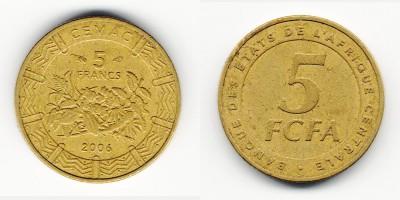 5 francs 2006