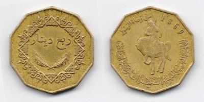 ¼ dinar 2001
