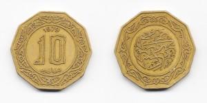 10 динаров 1979 года