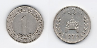 1 dinar 1972