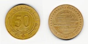 50 сантимов 1988 года