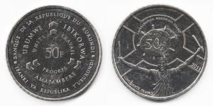 50 франков 2011 года