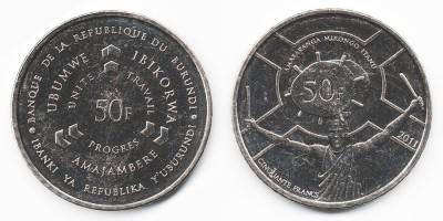50 francs 2011