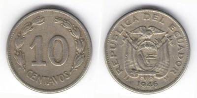 10 centavos 1946
