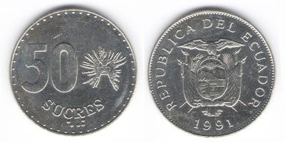 50 sucres 1991