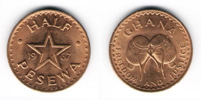 ½ pesewa 1967