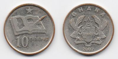 10 pesewas 2007