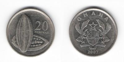 20 pesewas 2007