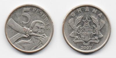 5 pesewas 2007
