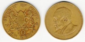 10 центов 1968 года