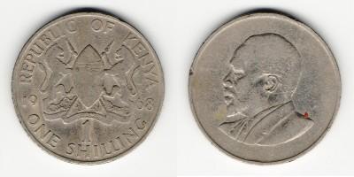 1 шиллинг 1968 года