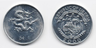 5 cents 2000