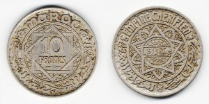 10 франков 1946 года