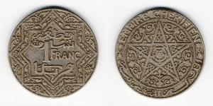 1 франк 1921 года