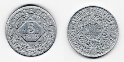 5 francs 1951