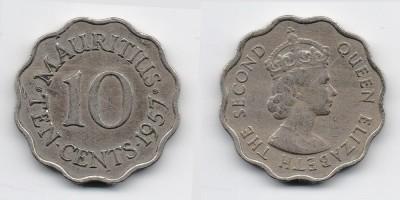 10 центов 1957 года