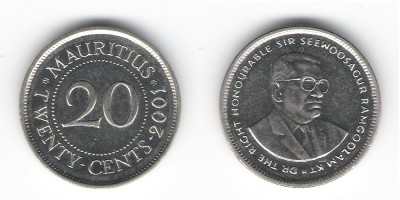 20 cents 2001