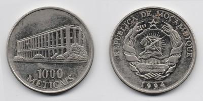 1000 метикал 1994 года