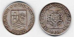 10 эскудо 1936 года
