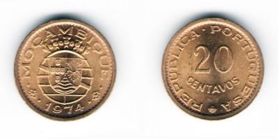 20 centavos 1974