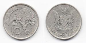 10 центов 1993 года