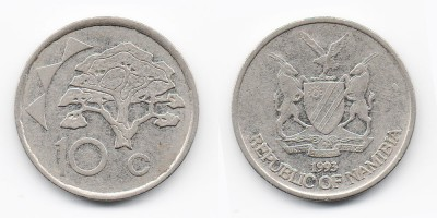 10 cents 1993