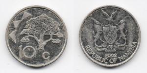 10 центов 2002 года