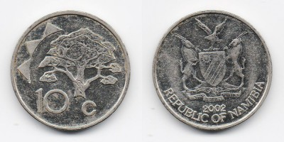 10 cents 2002