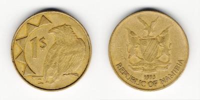 1 dollar 1993