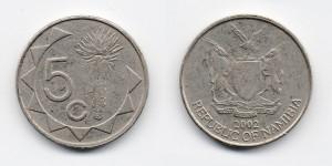 5 центов 2002 года
