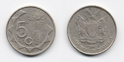 5 cents 2002