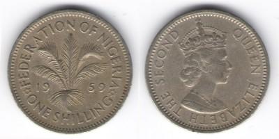 1 шиллинг 1959 года