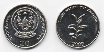 20 francs 2009
