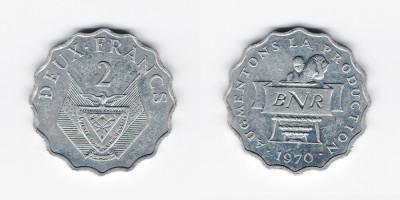 2 francs 1970