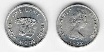 1 цент 1972 года