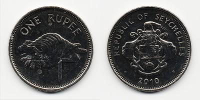1 rupee 2010