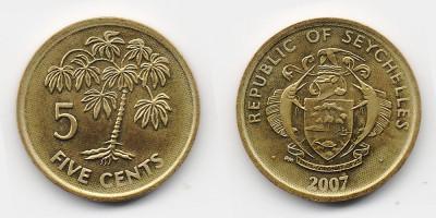 5 центов 2007 года