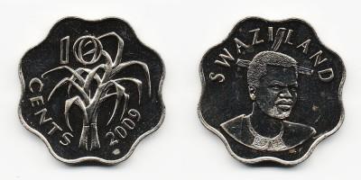 10 центов 2009 года