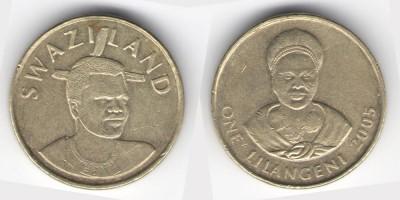 1 лилангени 2005 года
