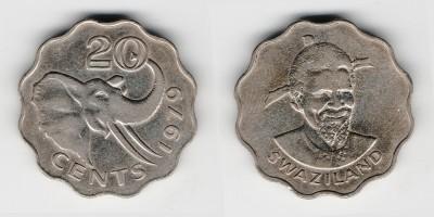 20 центов 1979 года