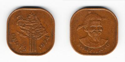 2 цента 1974 года