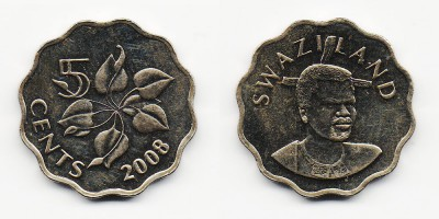 5 cents 2008