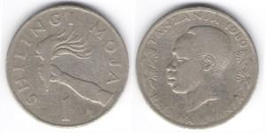 1 шилинги 1980 года