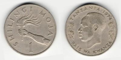 1 shilling 1974