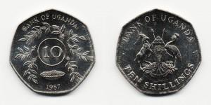 10 шиллингов 1987 года