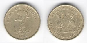 500 шиллингов 2003 года