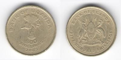 500 shillings 2003