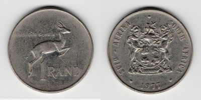 1 ранд 1977 года