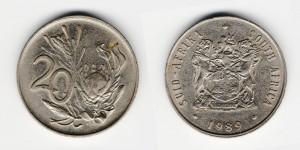 20 центов 1989 года